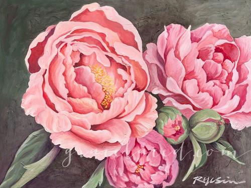 Pink Peonies WM