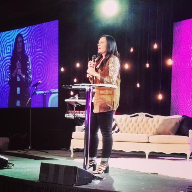 "Our opening keynote by P31 Prez Lysa TerKeurst on the theme of her new book The Best Yes--""Unrush Me"""