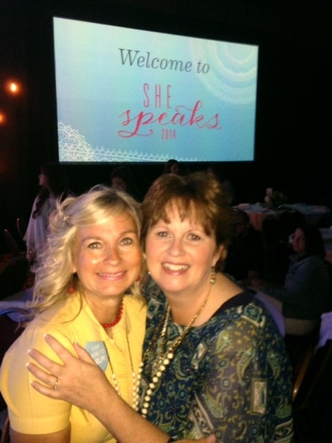 My assistant for the weekend was Sharon Glasgow {that is when she wasn't teaching sessions herself!}