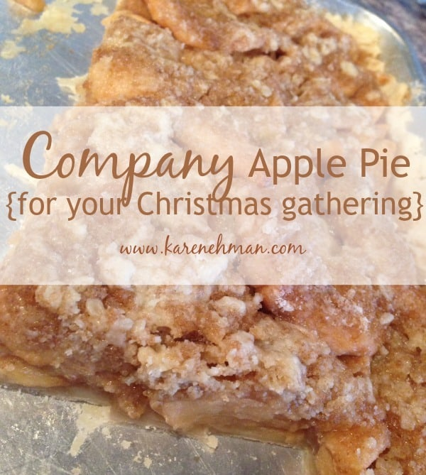 Company Apple Pie Re-Size
