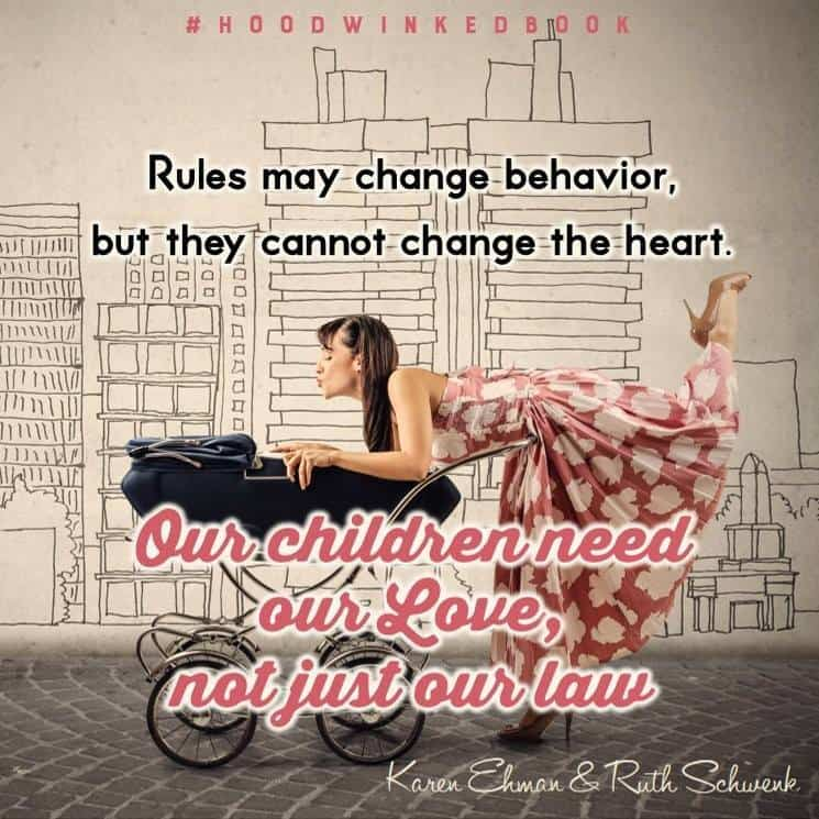 Our children need our love.  More on the Hoodwinked Book at Karenehman.com