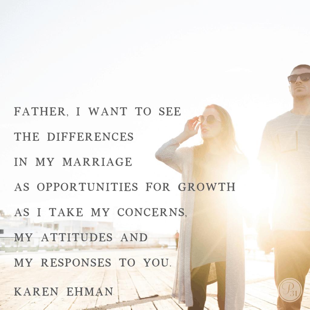 Sandpaper SPouses. A Proverbs 31 devotion from Karen Ehman (karenehman.com)