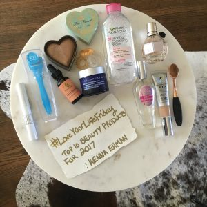 Top 10 Beauty Products for 2017 by Kenna Ehman of New Seele Studio for #LoveYourLifeFriday at karenehman.com