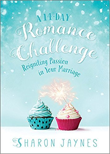 A 14-Day Romance Challenge: Reigniting Passion in Your Marriage by Sharon Jaynes. Five real-life marriage books at karenehman.com.