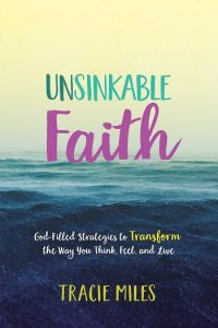4 Tips for Being Positive When Life Is Hard. A guest post by Tracie Miles, author of Unsinkable Faith at karenehman.com.
