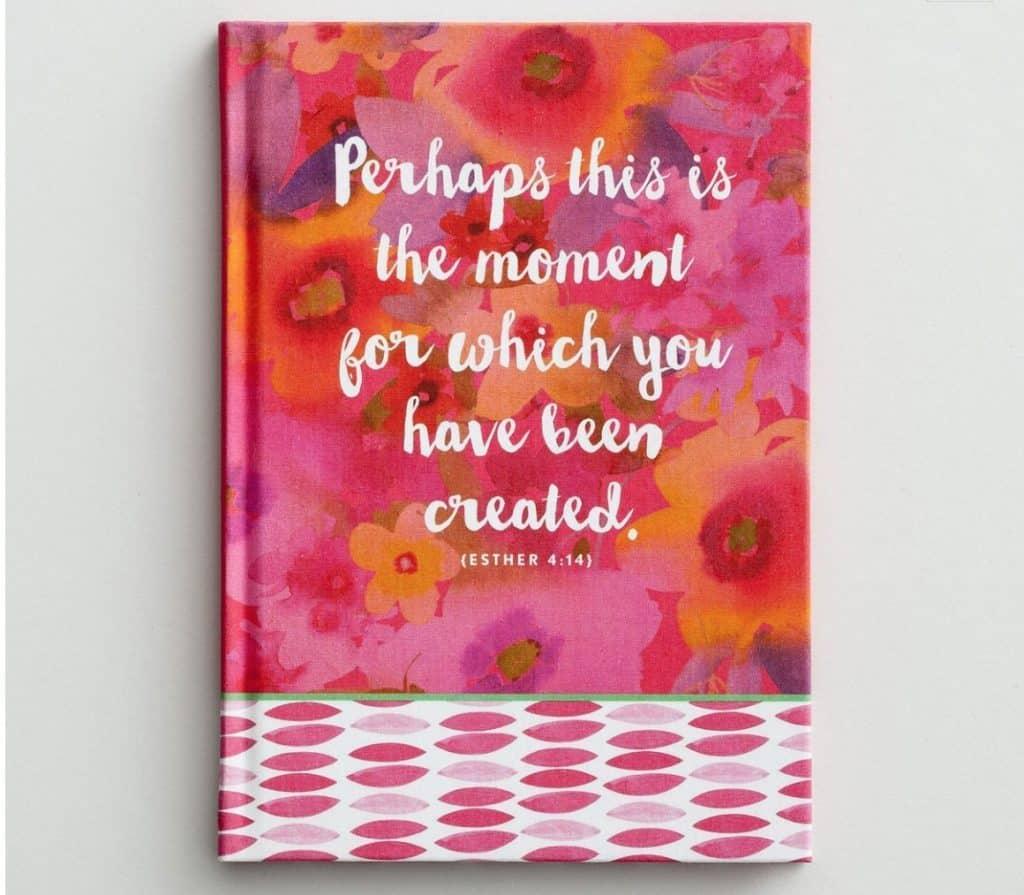 Dayspring journal, Esther 4:14. 10 Gifts She'll Love at karenehman.com.