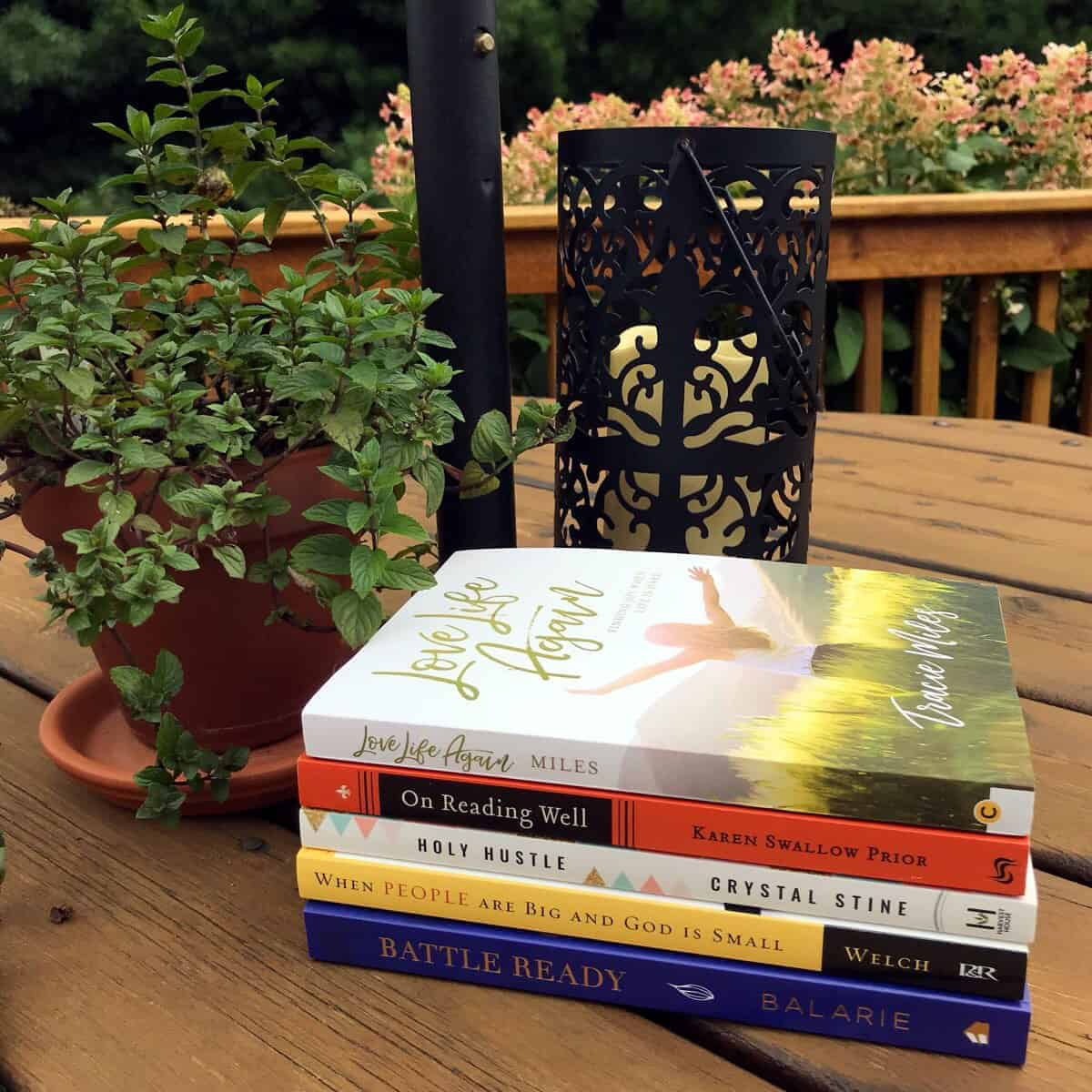 5 Must-Read Nonfiction books by Karen Ehman for National Book Lovers Day.