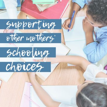 Supporting Other Mothers' Schooling Choices