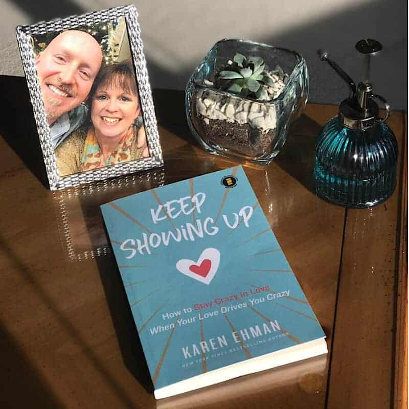 Karen Ehman's new book on marriage, Keep Showing Up, released on February 26, 2019.