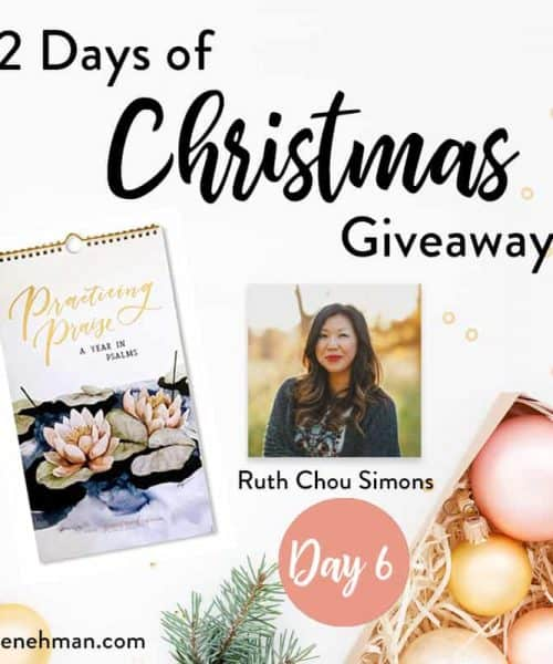 Ruth Chou Simons // Day 6 of 12 Days of Christmas Giveaways at karenehman.com.