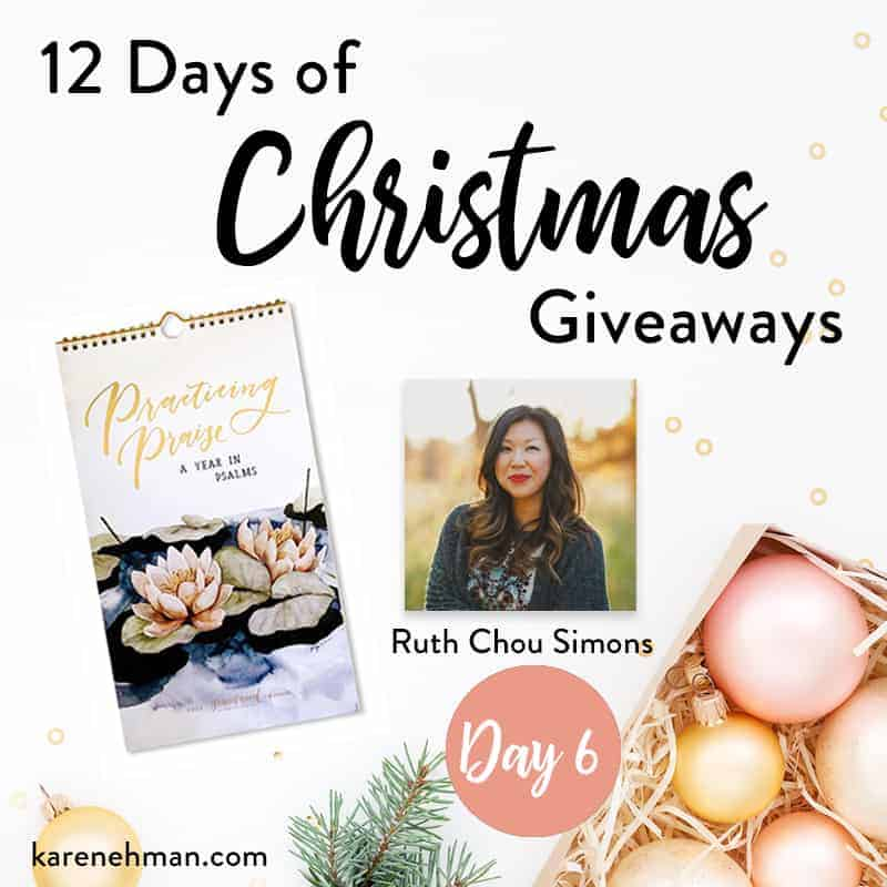 Ruth Chou Simons \\ Day 6 of 12 Days of Christmas Giveaways at karenehman.com.