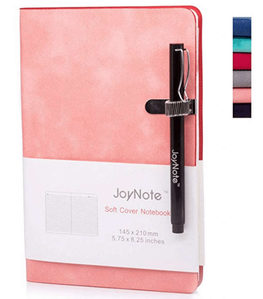 Journal with pen holder // 15 Fabulous Online Christmas Gifts at karenehman.com.