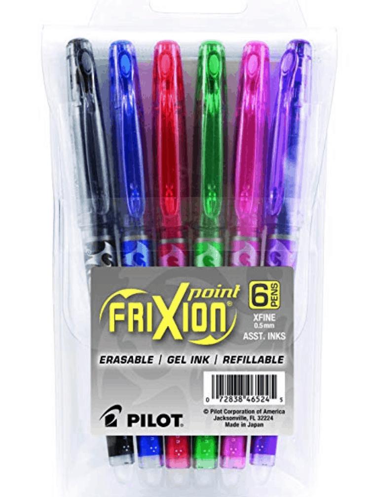Erasable pens // 15 Fabulous Online Christmas Gifts at karenehman.com.