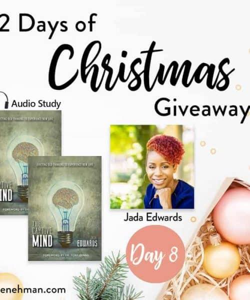 Jada Edwards // Day 8 of 12 Days of Christmas Giveaways at karenehman.com.
