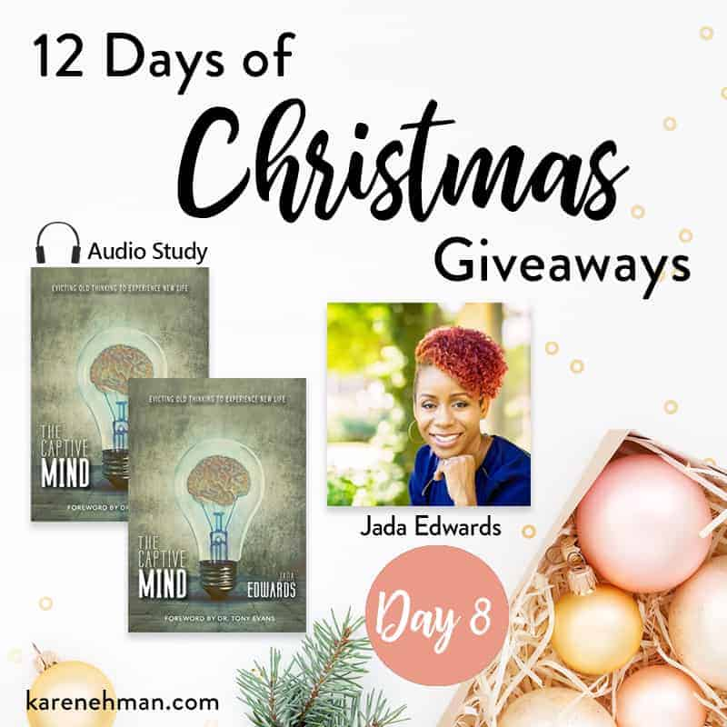 Jada Edwards // Day 8 of 12 Days of Christmas Giveaways at karenehman.com.