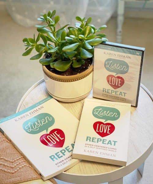 Listen Love Repeat giveaway at karenehman.com.